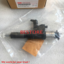 Genuine common rail injector 095000-5344 / 095000-5342,095000-5345 for  4HK1, 6HK1 8-97602485-6