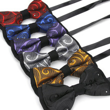 Fashion mens suit business wedding party bowknot Classical gentleman banquet british style personality unique retro bow ties(China)