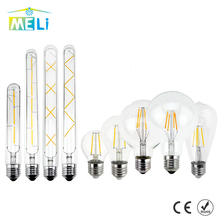 Vintage Edison LED Bulb E27 E14 Retro Filament  LED Lamp 2W 4W 6W 8W LED Light Glass Bulb 220V 240V Lampada Ampoule LED Bombilla