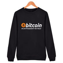 Buy New Bitcoin Cryptograrhy Trust Pullover Hoodie Men Women Casual Bitcoin Clothing Capless Sweatshirts for $12.61 in AliExpress store