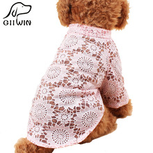 [GIIWIN] dog clothes hoodie clothing for dogs dress small dogs jumpsuit sweatshirt hoopet pet products outfit for dog py1022