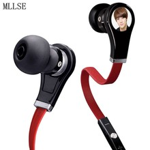 MLLSE Anime EXO EXO-K Oh Se Hun EXO-M PLANET KPOP Cartoon In-ear Earphone Sports AUX Stereo Earbuds Mic for Phone MP3 PC Cosplay
