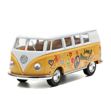 KiNSMART 1:32 City Bus Toy Car, Die cast Metal & ABS Classical Bus With Printing, Collectible Cars Model, Kids Toys, Juguetes(China)