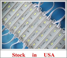 SMD 5730 waterproof LED module back light backlight for letter sign 3*SMD5730 1W 100lm IP66 75mm(L)*12mm(W) CE ship from US(China)