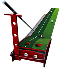PGM Indoor Wood Golf Putting Golf Exercise Blanket Kit Trainer Professional Practice Set Mat Fairway 3 Meter Putter Golf Aids(China)