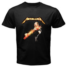 Cheap Sale Cotton T Shirt Gildan Short Sleeve Summer O-Neck Mens Metallica *Front Man Metal Rock Band Size S To 3Xl Tee Shirt