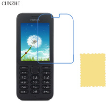 cunzhi 5pcs High Clear LCD Screen Protector For Nokia 301 / E63 / 222 / 210 / 130 Protection Ultra Slim Film