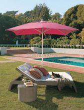 2015 European style outdoor wicker furniture patio daybed