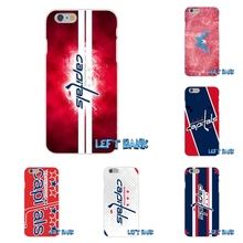 Washington Capitals Hockey Logo Silicon Soft Phone Case For HTC One M7 M8 A9 M9 E9 Plus Desire 630 530 626 628 816 820(China)