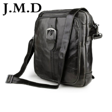 J.M.D Unisex Genuine Cow Leather Back pack Travel School Bags For Teenagers Messenger Shoulder Bag Handbags  7279