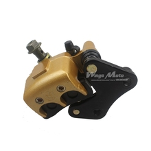 Front Brake Caliper with Brake Pads for Pit Dirt Bike 125cc 150cc 250cc