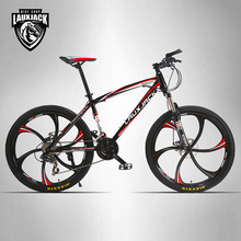 "LAUXJACK Mountain Bike Steel Frame 24 Speed Shimano Mechanic Brake 26"" Alloy Wheel(China)"