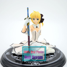 Japanese Anime Fate/stay night Saber Lily 1/7 PVC Action Figure Japanese Anime Girl Resin Collection Model Toy Gifts(China)