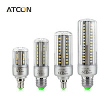 1Pcs Honest Wattage Lumen 5W 7W 9W 12W 15W 18W 20W 25W LED lamp Corn Bulb 110V 220V E27 E14 Aluminum Cooling 5736 LED Spot light