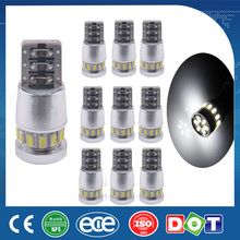 10*Super Bright White T10 18SMD 3014 6000K CAN BUS Error Free LED Light Bulb 12V(China)