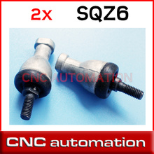 2pcs SQZ6 M6 6mm bearing ball joint right hand tie rod end SQZ6RS