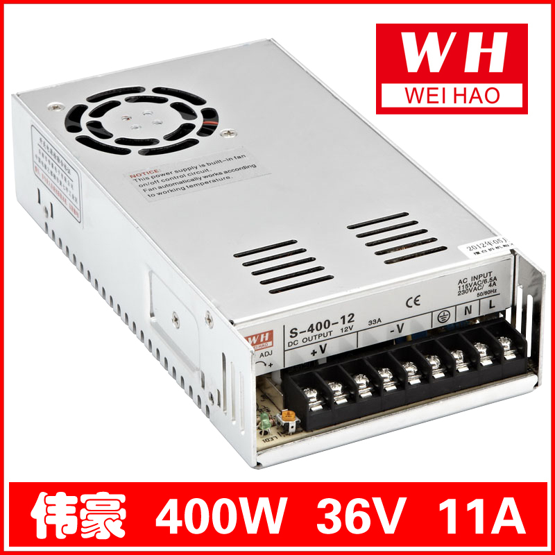 36V/11A 400W switching power supply S-400-36<br>