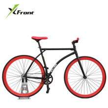 Original X-Front brand colorful fixie Bicycle Fixed gear bike 46 52cm DIY single speed road bike track fixie bicycle fixie bike(China)
