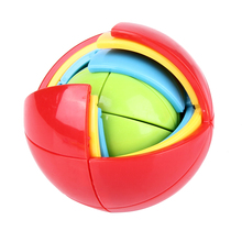 3D DIY Magic Intellect Puzzle Brinquedo Maze Ball Brain Teaser Educational Toys For Children's Educational Toys Funny Toy Gift
