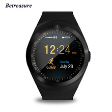 Betreasure BW01 Smart Watch Android Sport Bluetooth Wearable Men Women Classical Business Smartwatch For Huawei Xiaomi Phone(China)