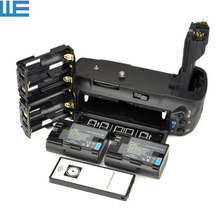 BG-E6 Equivalent Battery Grip + IR Remote + 2xLP-E6 Batteries +6 AA Battery Hold for Canon EOS 5D Mark II Digital SLR Camera.(China)