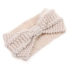 Women's Lady Turban Soft Knit Headband Crochet Headwrap Women Stitched Hairband