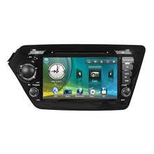 Car Radio DVD GPS Navigation Central Multimedia for Kia K2 Rio 2011 2012 SD USB RDS IPOD Analog TV Phonebook Bluetooth Handsfree
