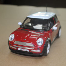 WELLY 1/24 Scale MINI COOPER Diecast Metal Car Model Toy New In Box For Collection/Gift/Kids/Gift/Decoration