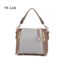YK-Leik 2018 Japan and South Korea fashion women bag Popular tassel shoulder Messenger bags Flag bag(China)