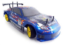 HSP Rc Car 4wd Nitro Gas Power Remote Control Car 1/10 Scale On Road Touring Racing 94122 Xstr High Speed Hobby Drift Car(China)