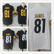 Mens 81 JESSE JAMES Jersey 2017 Rush Salute to Service High Quality Football Jerseys(China)