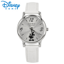Disney Ladies Watches Women Fashion Watch 2017 Sale Leather Band Luxury Casual Relogio Feminino Luxo Saat Mickey Mouse Watch