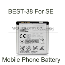 930mAh bst-38 cell mobile phone battery for sony ericsson xperia x10 mini k770 bateria free singapore air mail with retail box