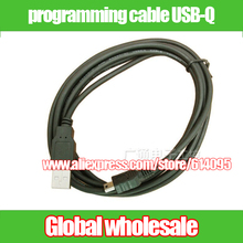 3pcs programming cable USB-Q for Mitsubishi Q series / Q06UDEH / Q03UDE data download cable USB Mini Electronic Data Systems(China)