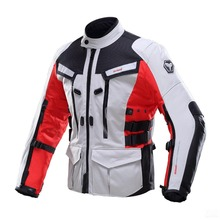 DUHAN Men's Oxford Waterproof Motorcycle Racing Jacket Professional road riding Motorcycle Race Automobile Motorcycle Jacket(China)