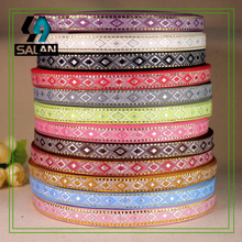 The new supply of diamond inlaid gold and silver wire, ethnic wind diamond belt, handmade doll clothing, features retro clothing
