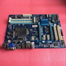 Free shipping original motherboard for Gigabyte GA-H77-DS3H DDR3 LGA 1155 USB2.0 USB3.0 H77-DS3H 32GB H77 Desktop Motherboard