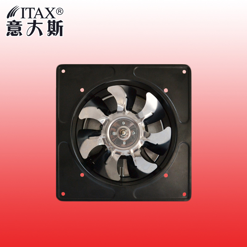ITASFD-180 180mm inner rotor wall industrial kitchen toilet lampblack exhaust fan powerful wind free shipping metal fence<br>