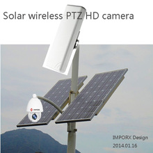 H.264 1.3 MP Security IP wireless Camera Outdoor CCTV  1080P Wireless distance 3km dome solar Camera IP 960P  IR Cut  ONVIF