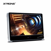 XTRONS 1pc Monitor 11.6 inch HD Digital TFT IPS Touch Panel 1080P Video Car Headrest DVD Player with HDMI Port FM-TX USB GAME