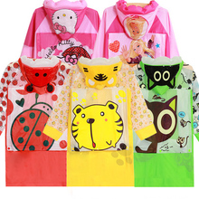 Children's cartoon cute elephant cat Yupi raincoat boy girl student inflatable rain cape with bag Position