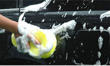 1 PC Car Wash Sponge Vacuum Compress Sponge Cleaning Tool Big Holes Absorbing Paint Injury-free