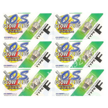 6Pcs Original Glow Plug OS O.S. Type 'F'(hot) OS71615009 Glow Plug Spark For For Four Stroke Engine RC Nitro Remote Control Cars