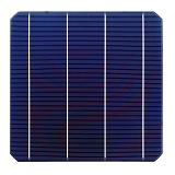 100Pcs 4.98W 0.5V 20.4% Effciency Grade A 156 * 156MM Photovoltaic Mono Monocrystalline Silicon Solar Cell 6x6 For Solar Panel