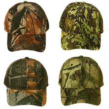Unisex Snapback Camouflage Wild Hiking Army Camo Cap Tactical  Adjustable Baseball Cap Hat gorra casquette for men and women