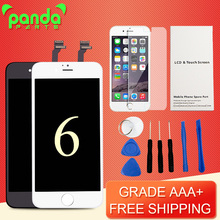 Top Grade AAA+++ Factory LCD Display Touch Digitizer 4.7 inch Screen with Frame Assembly Replacement For iPhone 6 Free DHL