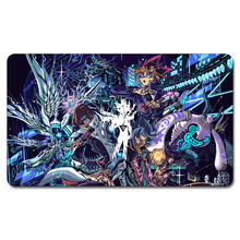 YGO Yu Gi Oh Duel Monster Playmat Board Games Yu-Gi-Oh Cards Custom Big Mousepad with Playmat Storage Bag(China)