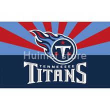 Tennessee Titans digital print Color bar Banner flag 3ft X 5ft polyester Tennessee Titans Flag Banner