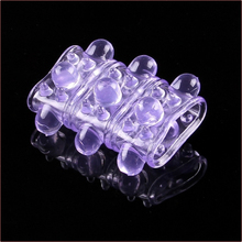 100pcs/lot Wholesale 100pcs/lot soft spines bump delay lock fine sex cock ring sex toys penis ring adult products YS0072