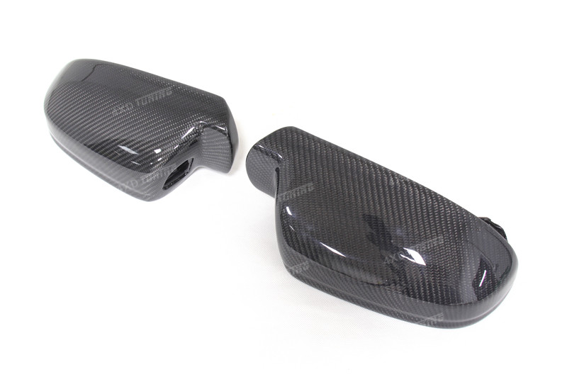 For Audi A4 B8.5 A5 S5 RS5 Carbon Fiber Mirror Cover Rear View without Lane Assit & with lane assit 2010 - 2015 (8)